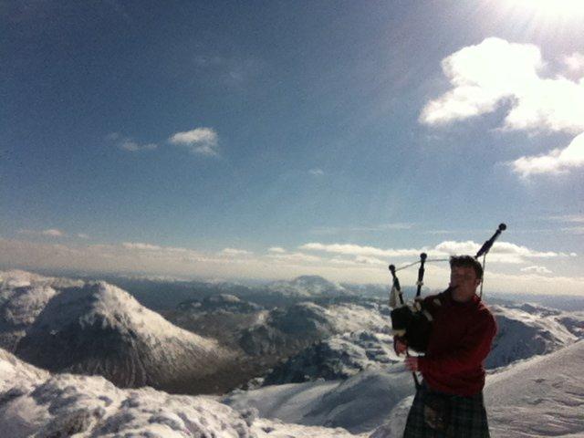 Cruach Adrain Grant McLeod Munro Bagpiper