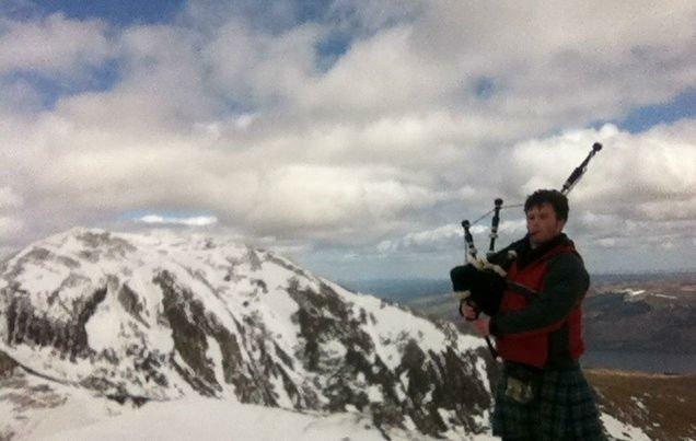 Munro Bagpiper Ben Lawers 4