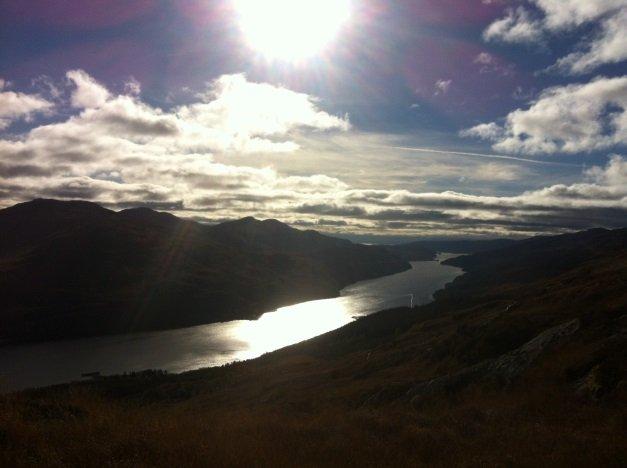 Beinn Narnain 2 Munro Bagpiper