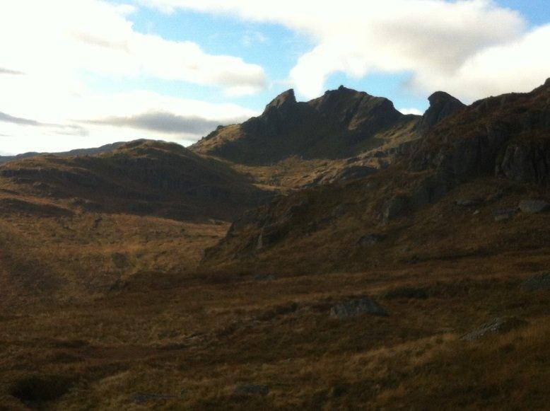 Beinn Narnain 3 Munro Bagpiper
