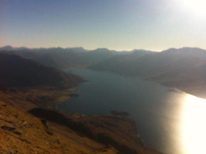 2 Beinn Sgritheall Munro Bagpiper