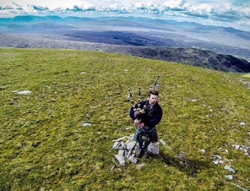 Meall Buidhe – First filming experience
