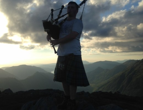 Why did I become the Munro Bagpiper?