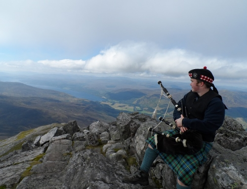 Schiehallion – Claire's first Munro!